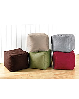Faux Suede Comfort Foot Rest