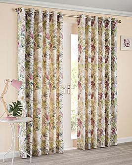 Paradise Eyelet Lined Curtains