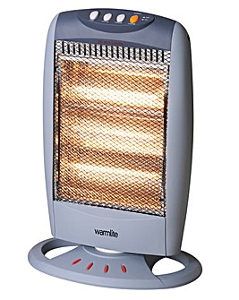 Warmlite 1200W Halogen Heater