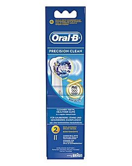 Oral B 2PK Precision Clean Brush Heads