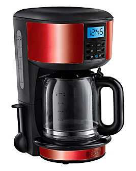 Russell Hobbs Legacy Red Coffee Maker