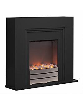 Warmlite Canterbury Black Fireplace Suit