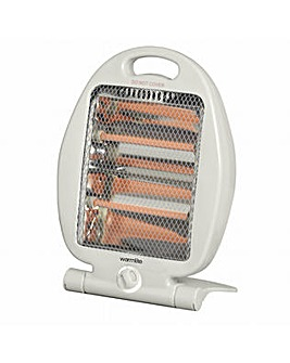 Warmlite 800W Folding Quartz Heater