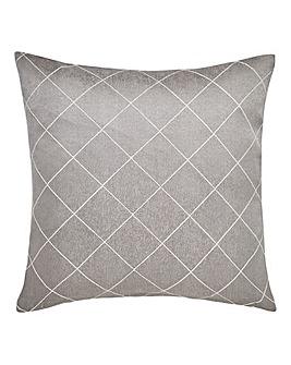 Trella Diamond Square Filled Cushion