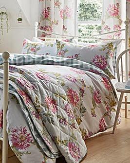 Chrysanthemum Duvet Cover Set