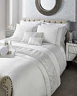 Shimmer Embellished Duvet Cover Set