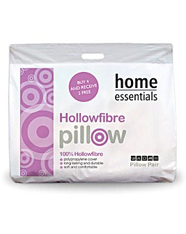 Hollowfibre Buy 4 Get 2 Free Pillow Pack