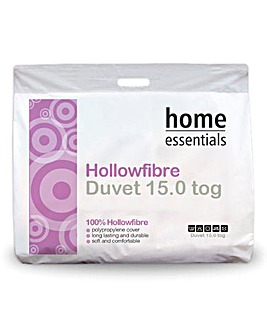 Any Tog One Price Fibre Duvet 15.0 Tog