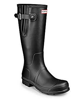 Hunter Mens Adjustable Side Wellingtons