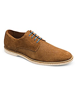 Dune Barrock Perforated Derby Shoe