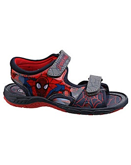 Boys Spider-Man Touch Fastening Sandal