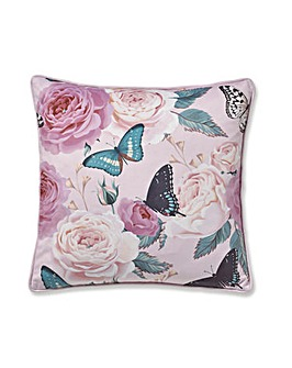 CL Botanical Butterfly Cushion
