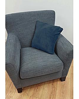 cascade home microfleece cushion