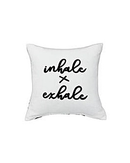 Heart of House Inhale Exhale Cushion
