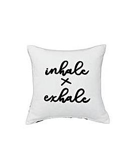 Heart of House Inhale Exhale Cushion