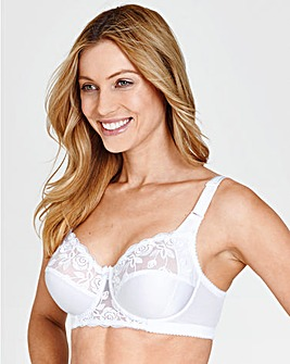 Miss Mary Embroidered Full Cup Wired Bra