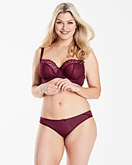 Curvy Kate Ellace Mulberry Balcony Bra