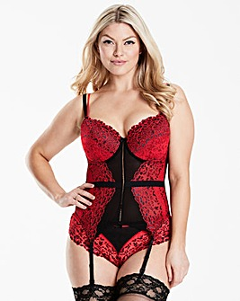 Pour Moi Fever Black/Red Basque