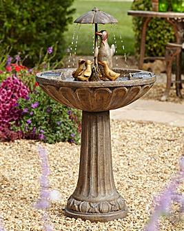 Smart Garden Umbrella duck fountain