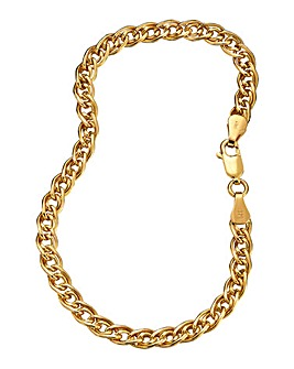 9 Carat Gold Double Link Chain