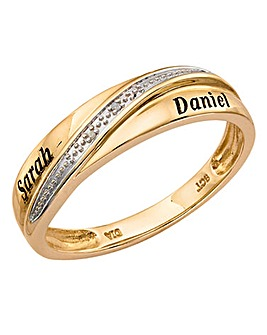 Precious Sentiments Gents Wedding Band