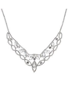 Mood Diamante Collar Necklace