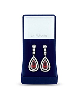 Jon Richard Open Peardrop Earring