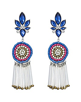 Mood Beaded Drop Earring