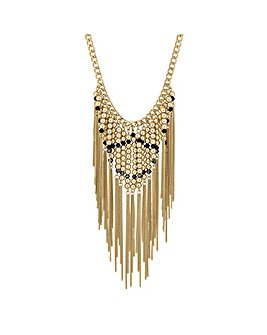 Mood Beaded Chain Drop Necklace