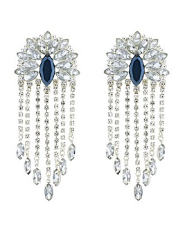 Mood Crystal Fan Droplet Earring