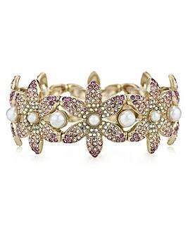 Mood Crystal Flower Bracelet