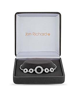 Jon Richard Circle Link Toggle Bracelet