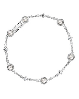 Alan Hannah Pearl Halo Bracelet