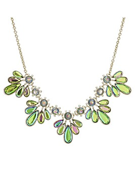 Mood Crystal Petal Necklace