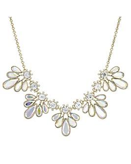 Mood Crystal Petal Necklace