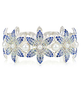 Mood Crystal Flower Bracelet