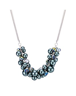 Mood Pearl Cluster Necklace