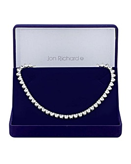 Jon Richard Graduated Heart Necklace