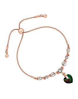Jon Richard Swarovski Heart Bracelet