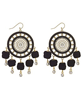 Mood Pom Pom Disc Earring