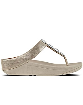 FitFlop(TM) Roka Womens Toe Post Sandals