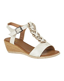 LOTUS ORTA WEDGE SANDALS