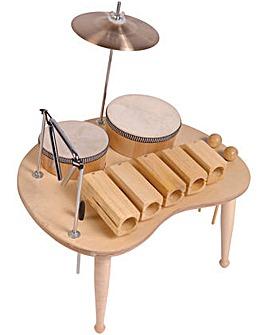 Pp Wood Block Table Music
