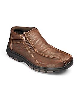 Cushion Walk Double Zip Boot
