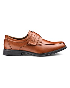 Touch & Close Formal Shoes Wide Fit