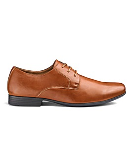 Formal Lace Up Derby Shoes Standard Fit