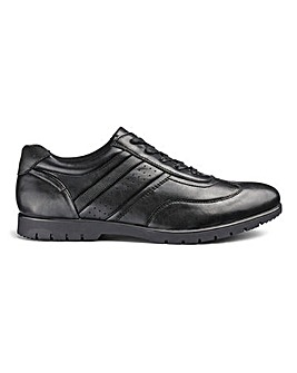 Flex Lace Up Shoes Wide Fit