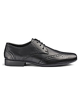 Formal Lace Up Brogues Extra Wide Fit