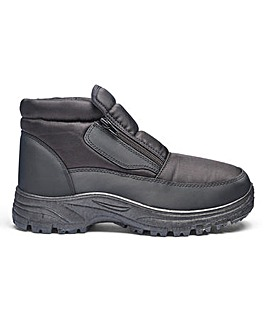 Double Zip Snow Boot Standard Fit