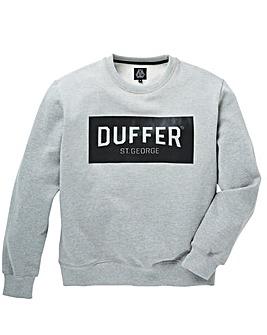 Duffer Snelson Print Crew Sweat Long